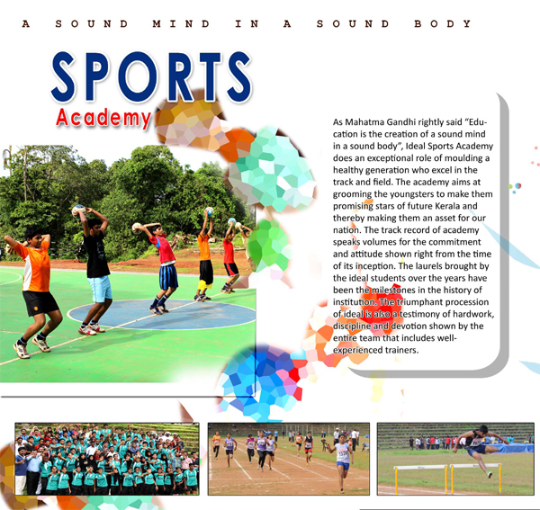 ideal sports academy
